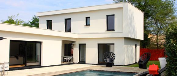 avance de toiture avance de toiture maison ossature bois maison bois toit plat maison bbc. Black Bedroom Furniture Sets. Home Design Ideas